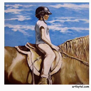 Jockey Girl by ArtByTal
