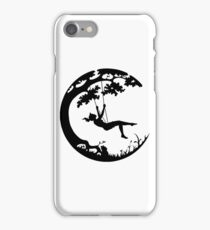 Swinging on the Earth iPhone Case/Skin