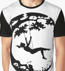 Swinging on the Earth Graphic T-Shirt