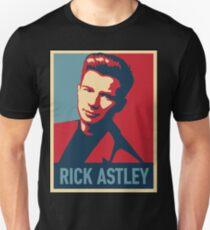RICK ASTLEY IN POSTER -FAJAR- Unisex T-Shirt