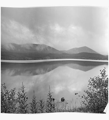 Loch Morlich reflections Poster
