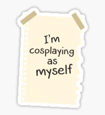 Me Myself Sticker