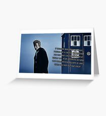 Doctor Who : Davro's dilemma Greeting Card