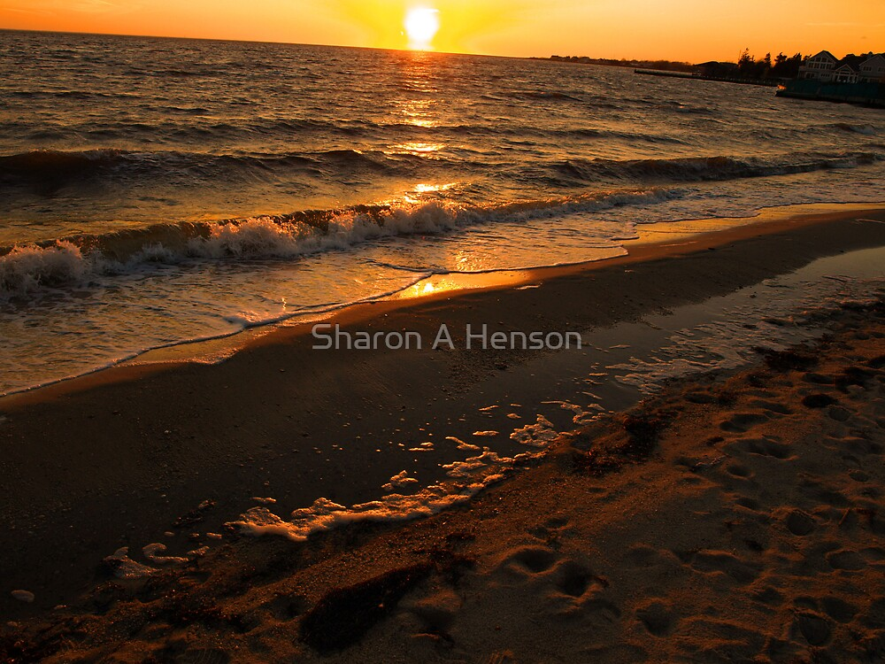 FRIDAY'S NIGHT SUNSET by Sharon A. Henson