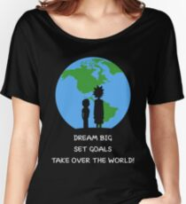 Dreams and Goals Women's Relaxed Fit T-Shirt
