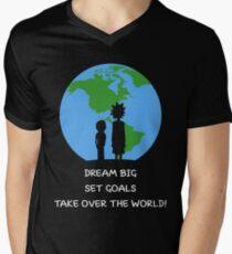 Dreams and Goals Men's V-Neck T-Shirt