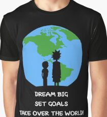 Dreams and Goals Graphic T-Shirt