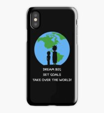 Dreams and Goals iPhone Case
