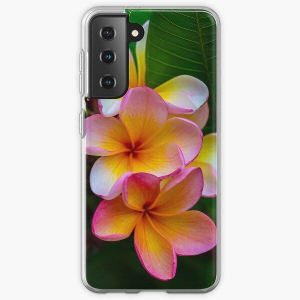 Frangipani Samsung Galaxy Soft Case