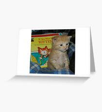Story Time? Greeting Card