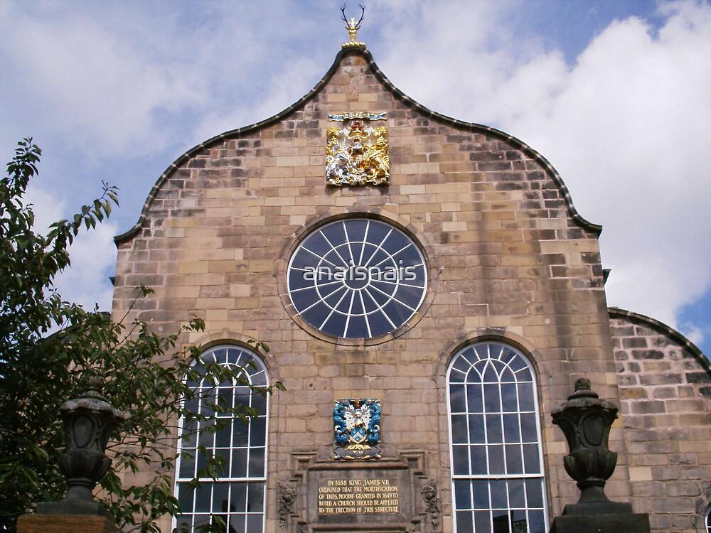 Canongate Kirk, the Church at Holyrood end of mile, Edinburgh by anaisnais