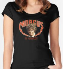 MORGUS: THE MAGNIFICENT Women's Fitted Scoop T-Shirt