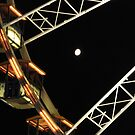 Moon thru the Wheel by cfam