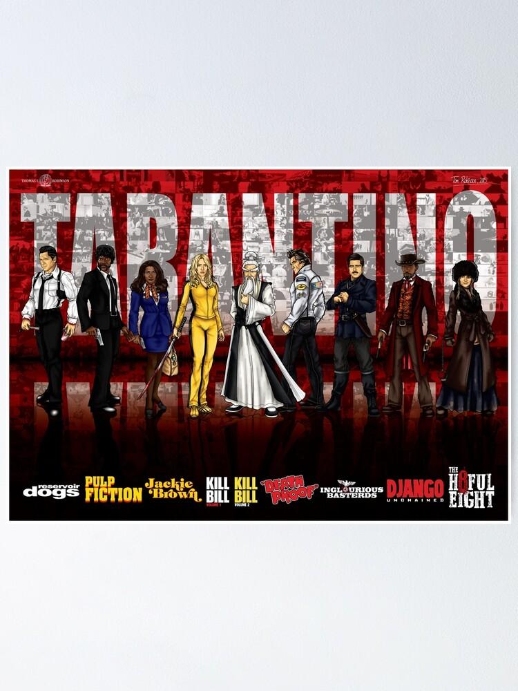 Alternate view of Tarantino Poster