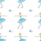 Cute and beauty Ballet dancer by naum100
