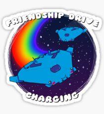 Friendship Drive Charging Sticker