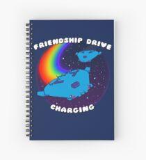 Friendship Drive Charging Spiral Notebook
