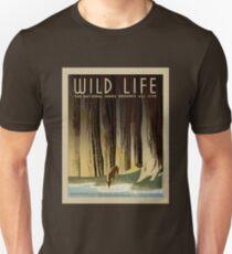 WILD LIFE National Park Service Poster WPA T-Shirt