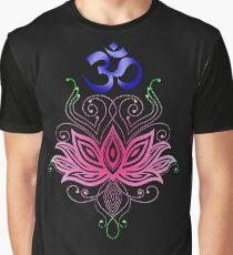 Camiseta gráfica Lotus-Om