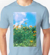 Thinking of you - Orange poppies Unisex T-Shirt