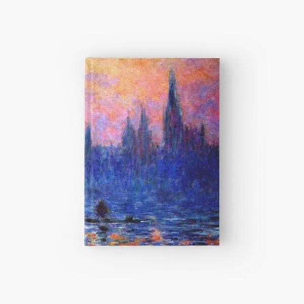 parliament of london Claude Monet Hardcover Journal