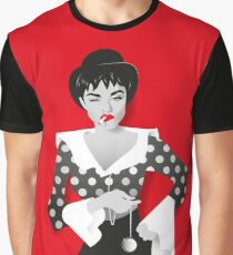 Bowler hat girl Graphic T-Shirt