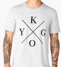 KYGO Black Men's Premium T-Shirt