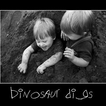 Dinosaur digs by Jazzyjane