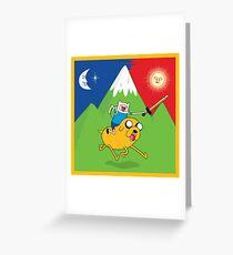 Finn's Jakeride Hofmann Acid Blotter Greeting Card