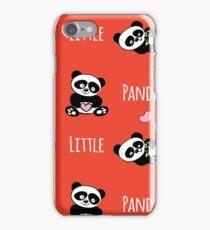 Cute  little panda seamless pattern iPhone Case/Skin