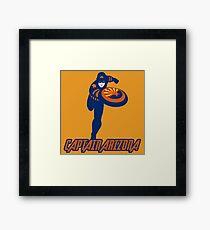 captain Arizona Framed Print