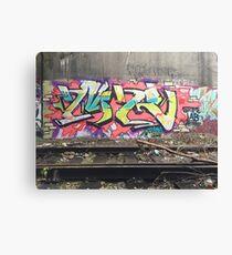 MR Graffiti in Chicago Canvas Print