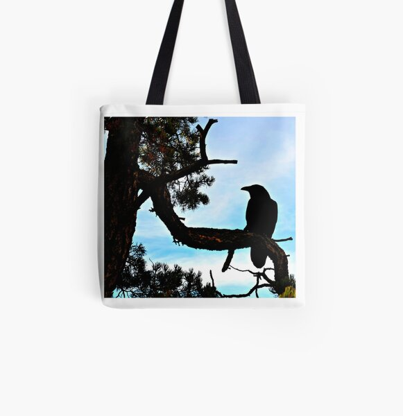 Birds On Grand Canyon's South Rim All Over Print Tote Bag