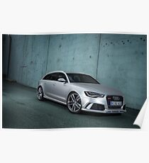 Audi RS6 Avant Poster