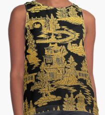Chinoiserie - Chinese Lacquer Box  Contrast Tank