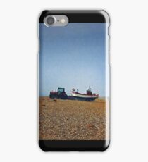 Cley Beach in Norfolk iPhone Case/Skin