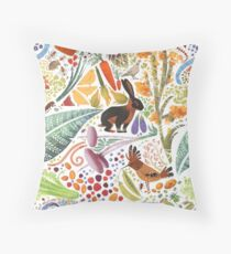 Vegetable Garden Party Throw Pillow