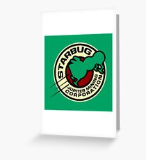 Jupiter Mining Corporation Logo Greeting Card