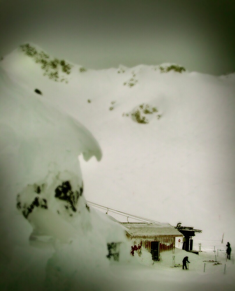 Showcase T-bar, Blackcomb by Craig Mitchell