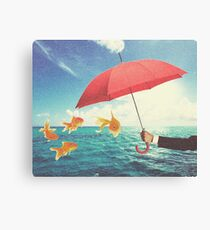 Riddle of Fantails Canvas Print