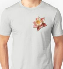 Food Art Fusion ~ Papaya Lotus Edible Sculpture  Unisex T-Shirt