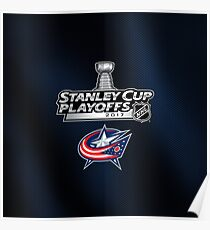Columbus Blue Jackets Stanley Cup Poster