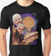 Three Guy Fieri Moon T-Shirt