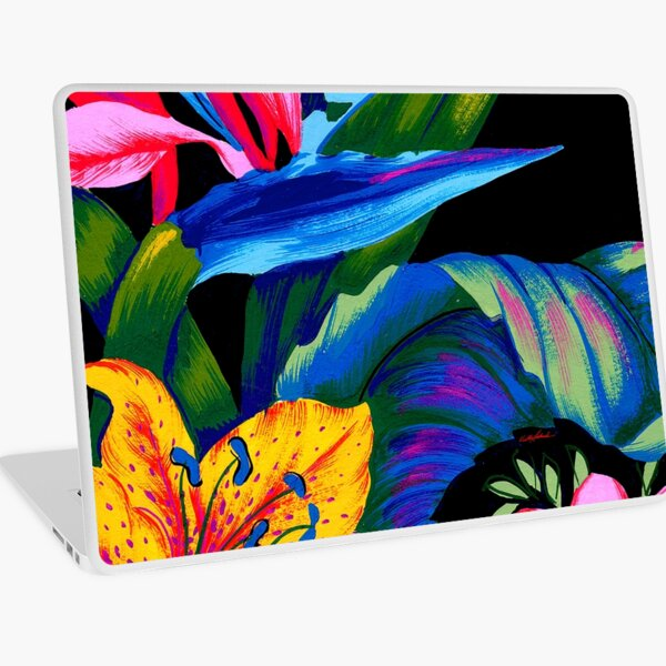 Lets Go Abstract Laptop Skin