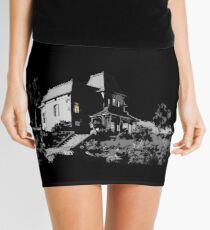 Welcome to Bates Motel Mini Skirt