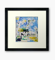 Peaceful conquest of the Earth, Genesis 1:28, Original Abstract Framed Print