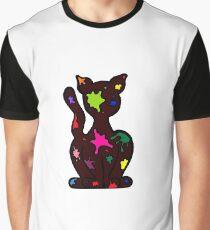Splat Cat Graphic T-Shirt