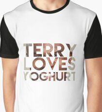 terry loves yogurt Graphic T-Shirt