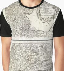 Antique Map - Coronelli's Netherlands (1690) Graphic T-Shirt