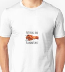 Hot wings & Diamond Rings Unisex T-Shirt